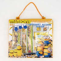 Children stationery set with minions character