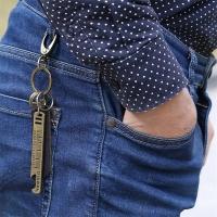 Men's key chain