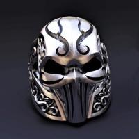 Men's ring - skull mask