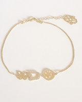 bracelet with high quality plated 24 gold