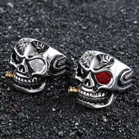 Men's ring - skull shape