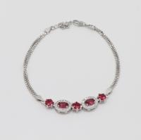 Women's silver bracelet