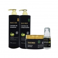 ‏The complete hair care set with Canadian vejetree Castor Oil