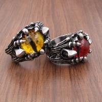 Men's dragon fist ring