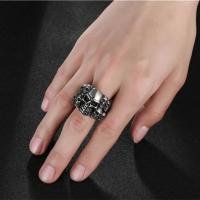 Men's skull shaped ring