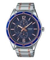 Casio Enticer Men Multi Dial Men's Watch MTP-E319RG-2BV Time Inventors