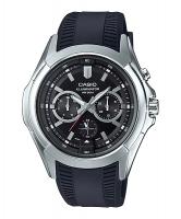 Casio Enticer Men's Analog Black Dial Watch MTP-E204-1AV Time Inventors