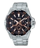 Casio Enticer Analog Black Dial Men's Watch MTD-1069D-1A3V Time Inventors