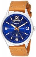 Casio Enticer Men's Analog Blue Dial Men's Watch MTP-E129L-2B2V Global warranty Time Inventors