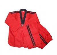 Taekwondo Training Suit with Belt - Color
