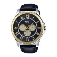 Casio Analog Black Dial Men's Watch-MTP-E318L-1BV Global warranty Time Inventors