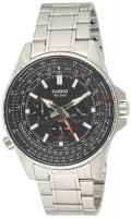 Casio Enticer Analog Black Dial Men's Watch - MTP-SW320D-1AV Global Warranty Time Inventors