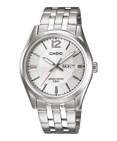Casio Classic Silver Watch For MenMTP-1335D-7AV Global Warranty Time Inventors