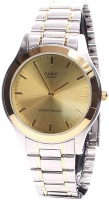 Casio Two Tone Stainless Steel Strap Watch for Men MTP-1128G-9ARDF Global Warranty Time Inventors