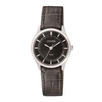 Citizen Stainless Steel Quartz Women's Black Dial Watch ER0207-09E