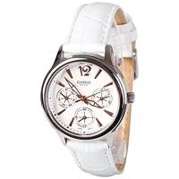 Casio Enticer White Women's Watch LTP-2085L-7AVDF Global Warranty Time Inventors