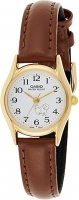 Casio White Dial Leather Strap Ladies Watch LTP-1094Q-7B7RDF Global Warranty Time inventors