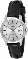Casio Genuine Leather Band Analog Watch LTP-V004L-7AUDF Global Warranty Time inventors