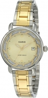Casio Analog Watch for Women LTP-E120SG-9ADF Global Warranty Time Inventors