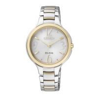 Citizen Eco-Drive Sapphire Dual Tone  Women's Watch EP5994-59A