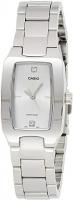 casio Women's Ladies (Silver/White) Stainless Steel Analog Quartz Watch LTP-1165A-7C2DF Global Warranty Time Inventors
