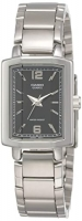 Casio Enticer Analog Black Dial Women's Watch LTP-1233D-1ADF Global Warranty Time Inventors