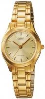 Casio General Ladies Watches Metal LTP-1275G-9ADF Global Warranty Time inventors