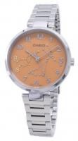 Casio Quartz Analog Women's Watch LTP-1238D-1ADF Global Warranty Time inventors
