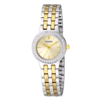 Stone Encrusted Analog Watch for Women EJ6105-58P
