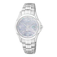 Citizen Eco-Drive Silver Stainless-Steel Watch  EW1780-51A