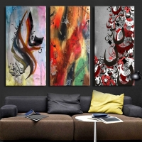 wall paintings - 3 pieces