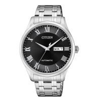 Citizen Men's Stainless Steel Roman Automatic Watch NH8360-80E