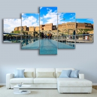 wall paintings - 5 pieces