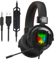 ONIKUMA K3 Stereo Gaming Headset for Xbox One, PC, PS4 Over-Ear Headphones with Noise Canceling Mic