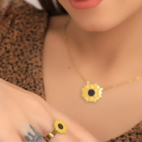 Sunflower accessories set