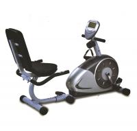 An exercise bike