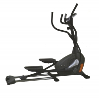 A sophisticated elliptical exercise bike