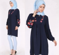 Indigo long shirt Julie Moda