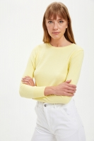 Defacto sweatshirt with a long sleeve cut