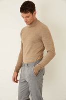 Defacto menknitwear with long sleeves