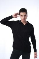 Men's black sweatshirt