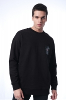 Men's sweatshirt with a distinctive print