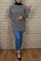 Women's tunic - long sleeves - broadcloth