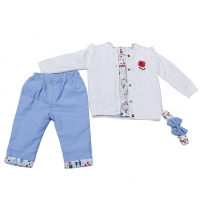 Baby set distinctive design