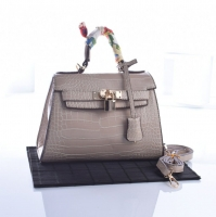 Women's bag with scarf