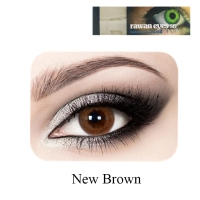 Eye lenses new brown color