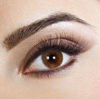 Eye lenses color Brown Bn72