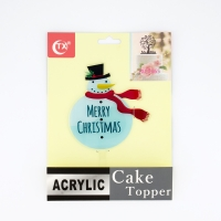 Cake Decorations - Snowman