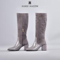 Women's long leg grey shoe - Mario Mazzini