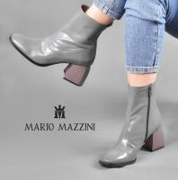 Long leg gray women shoes - Mario Mazzini